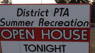 11th ANNUAL SUMMER RECREATION OPEN HOUSE