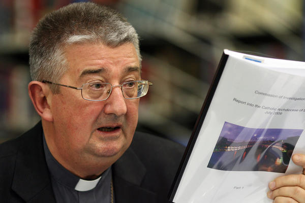 "Archbishop of Dublin Diarmuid Martin told the media that no words of apology will ever be sufficient to the victims of child abuse and that ""there is no room for revisionism regarding the norms and procedures in place."""