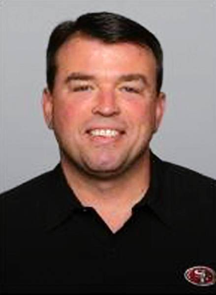 Eagles Vice President of player personnel Tom Gamble.