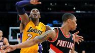 On their day off Wednesday, the Lakers were tied with the Portland Trail Blazers in the Western Conference standings.