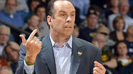 SOUTH BEND, Ind. — During a timeout with 33 seconds left in regulation in Notre Dame's 82-78 overtime victory over DePaul on Wednesday night, coach Mike Brey noticed an unwelcome guest in the Irish huddle: self-pity.