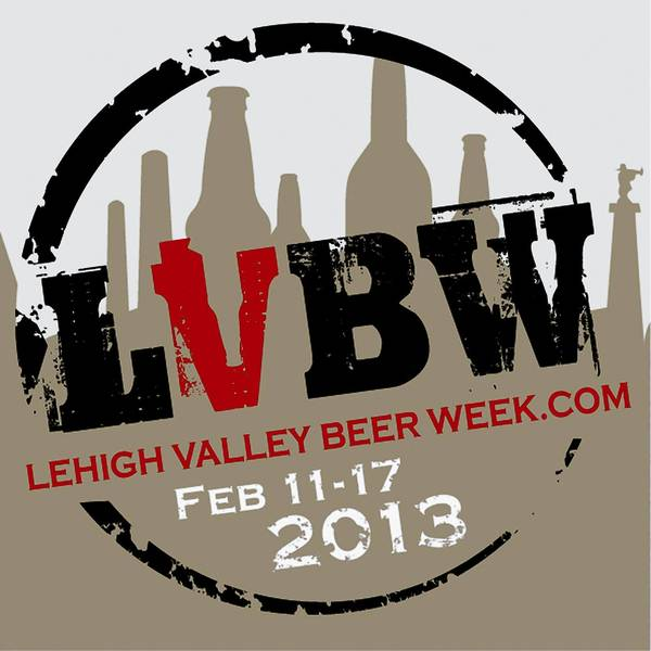Logo for Lehigh Valley Beer Week Feb. 11-17