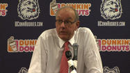 Syracuse Coach Jim Boeheim Calls ESPN Reporter Andy Katz An Idiot In Postgame Press Conference
