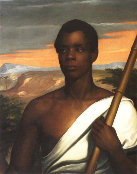 "Cinqué was a West African man who was the most prominent defendant in the case, United States v. The Amistad, in which it was found that he and 51 others had been victims of the illegal Atlantic slave trade.  Kidnapped in Mende (in the hinterland of what is now Sierra Leone) and carried across the Atlantic Ocean to Spanish Cuba, as stated by the <a href=""http://www.anb.org/login.html?url=%2Farticles%2F15%2F15-01296.html&ip=38.81.99.67&nocookie=0"">American National Biography</a>, he was one of many victims of an illegal but still thriving international slave trade.  After his arrival in Havana in 1839, Cinqué was transferred aboard the schooner, Amistad.  Cinqué and some of his fellow captives managed to seize control of the vessel and attempted to sail home but were intercepted by the U.S. Navy as they veered into southern New England.  When the Navy discovered what had happened, they charged the Africans with mutiny and murder, and took them to New Haven, to await trial.  Black and white abolitionists championed the rebels' cause over a period of several years, and after a series of legal challenges that culminated in a dramatic Supreme Court showdown, the survivors were finally allowed to return home."