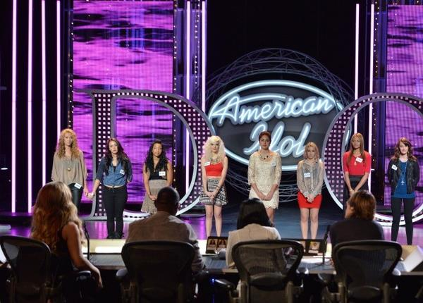 "Hollywood Round: Contestants wait to hear if they will advance to the next round on ""American Idol."""