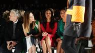 "Michael Kors' show at New York Fashion Week on Wednesday brought out a Hollywood A-list of a front row: Michael Douglas, Zoe Saldana, Hilary Swank and Jada Pinkett Smith with daughter Willow, along with Broadway star and onetime ""30 Rock"" guest star Cheyenne Jackson and actress Paz Vega. <a href=""http://nymag.com/thecut/2013/02/fug-girls-willow-jada-pinkett-smith-at-kors.html"">[Cut]</a>"