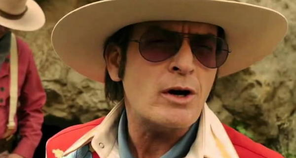 "Charlie Sheen, Jason Schwartzman and Bill Murray star in ""A Glimpse Inside the Mind of Charles Swan III."""