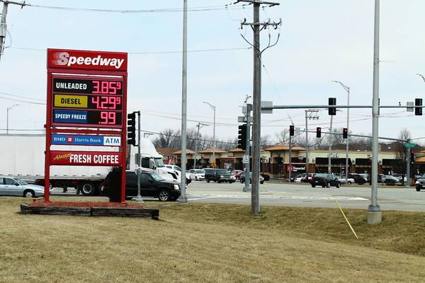 As the price of gasoline rose to $3.85 a gallon in Tinley Park, local officials were trying to cut -- or at least control -- annual motor vehicle fuel costs.