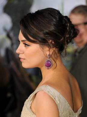 Actress Mila Kunis attends Wednesday's premiere.