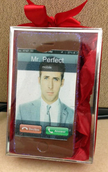 A customized chocolate Iphone from Madame Chocolat in Beverly Hills.