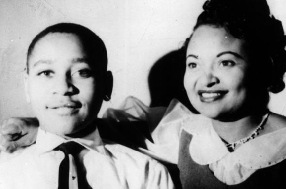 Emmett Till and mother Mamie Bradley