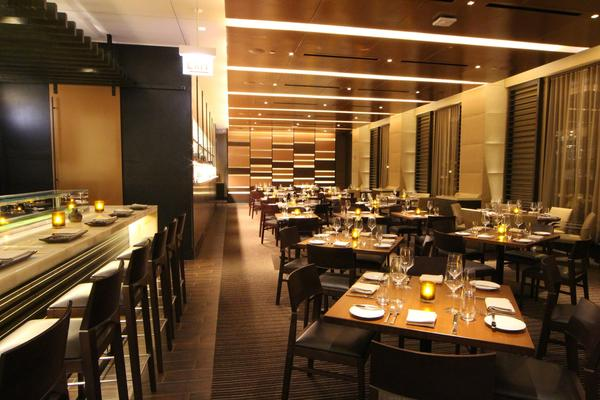 "<a href=""http://chicago.metromix.com/venues/mmxchi-stetsons-chop-house-hyatt-regency-venue"">Stetsons Chop House</a> inside the Hyatt Regency Chicago reopened as Stetson's Modern Steak & Sushi in late January."