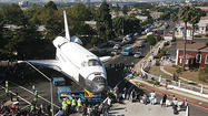 Time-lapse video: Space shuttle Endeavour's trek across L.A.