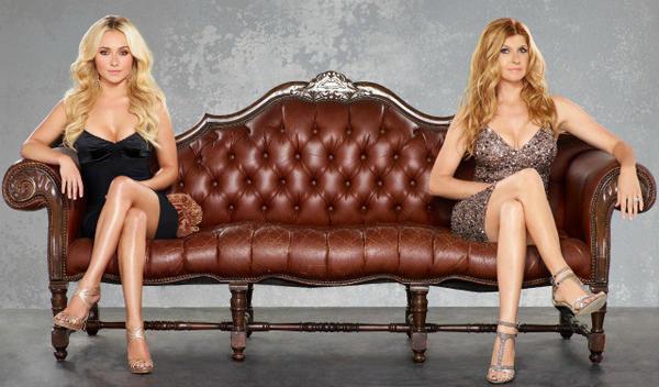 "Hayden Panetierre and Connie Britton of ABC's ""Nashville."""