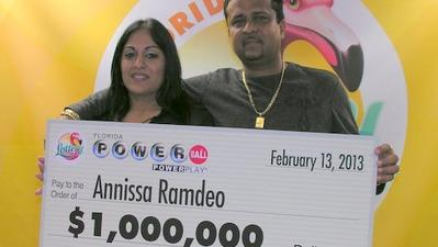 West Park woman nets $1M Powerball win