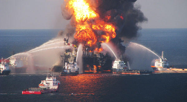 The U.S. Justice Department announced Transocean, the owner of the Deepwater Horizon oil rig, will pay a $1.4-billion settlement for the oil spill in the Gulf of Mexico in 2010.