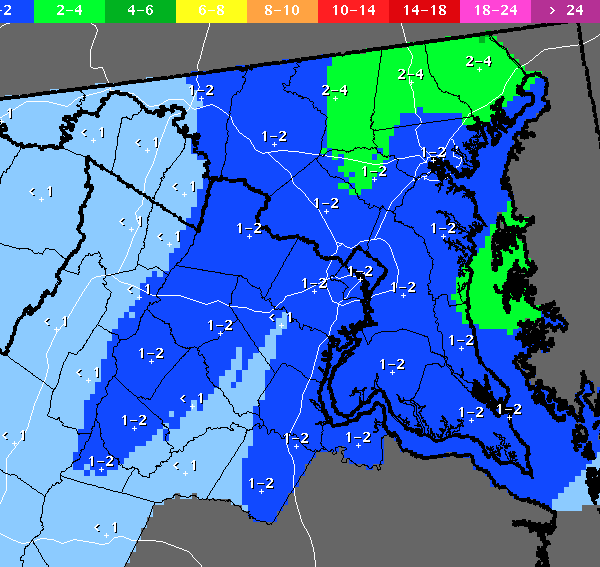 The National Weather Service is calling for another iffy snow system to pass through early Saturday.