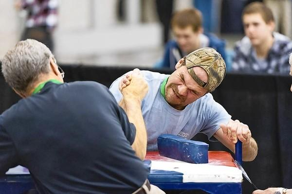 Arm wrestling will be part of a sports festival coming to Hampton.