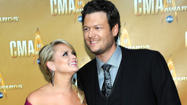 Men's Health magazine just released its new list of the Hottest Celebrity Couples, and one country music duo made the list. Blake Shelton and Miranda Lambert represented country music couples as they came in at #7 on the list. Other celebrity couples to make the rundown include newly married Justin Timberlake and Jessica Biel at #18, soon-to-be-parents Kim Kardashian and Kanye West at #16, Julianne Hough and Ryan Seacrest at #11 and the recent Golden Globes hosting duo, Amy Poehler and Tina Fey, ranked at #6. The #1 honor went to President Barack Obama and the First Lady. Blake and Miranda were also just named Zillow's most desirable celebrity neighbors.