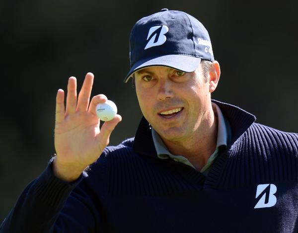 Matt Kuchar birdied his first three holes on his way to an early lead at the Northern Trust Open.