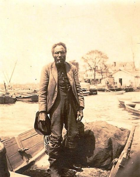 Born in slavery, black watermen Taylor Armistead made an independent living in Hampton's seafood industry after the Civil War.