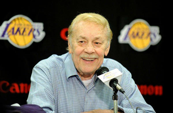 Lakers owner Jerry Buss has been hospitalized because of an undisclosed form of cancer at Cedars-Sinai Medical Center, according to multiple team personnel.