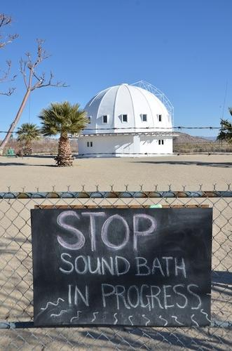 Q: Where can I take a sound bath, and will UFOs be involved?