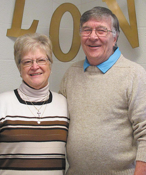 Susan and Dick Lohman have been married 50 years.