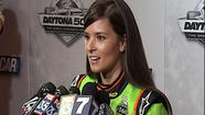 Thursday was Media Day at Daytona International Speedway for all the drivers competing in the Cup Series, Nationwide Series, and the Truck Series.  And as you can imagine, the topics ran the gamut.