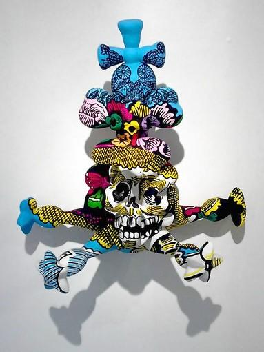 """The """"Gravity's Elbow"""" exhibit is on display at the George Gallery through Feb. 28."""