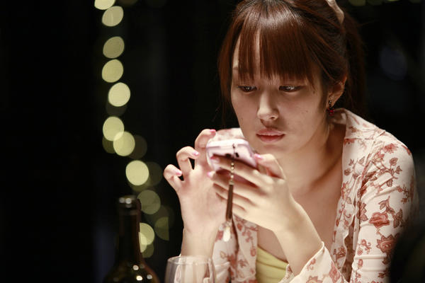 "Rin Takanashi plays Akiko in Abbas Kiarostami's movie, ""Like Someone In Love."""