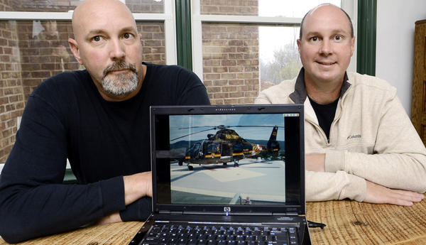 Brothers Jimmy and Bobby Harsh retired from the Maryland State Police as flight paramedics.