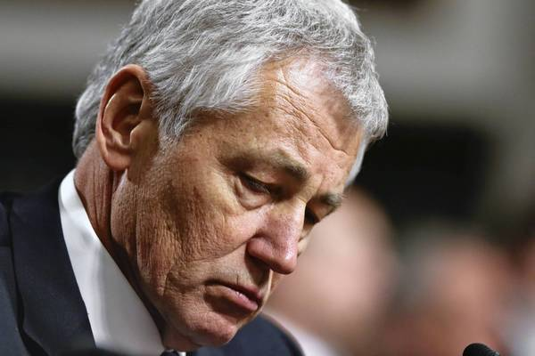 Chuck Hagel is President Obama's nominee for Defense secretary.
