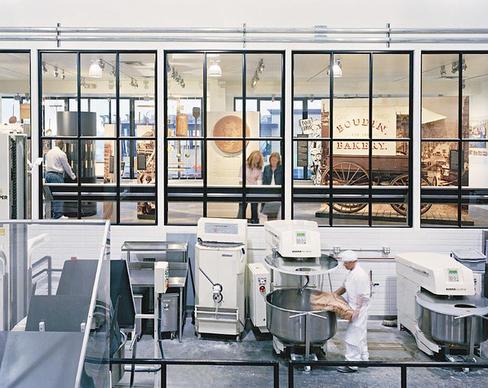 Boudin Museum bakery tour.