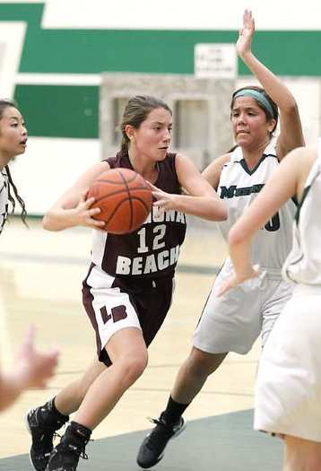 Jackie Cenan has been a key player for the Laguna Beach High girls' basketball team.
