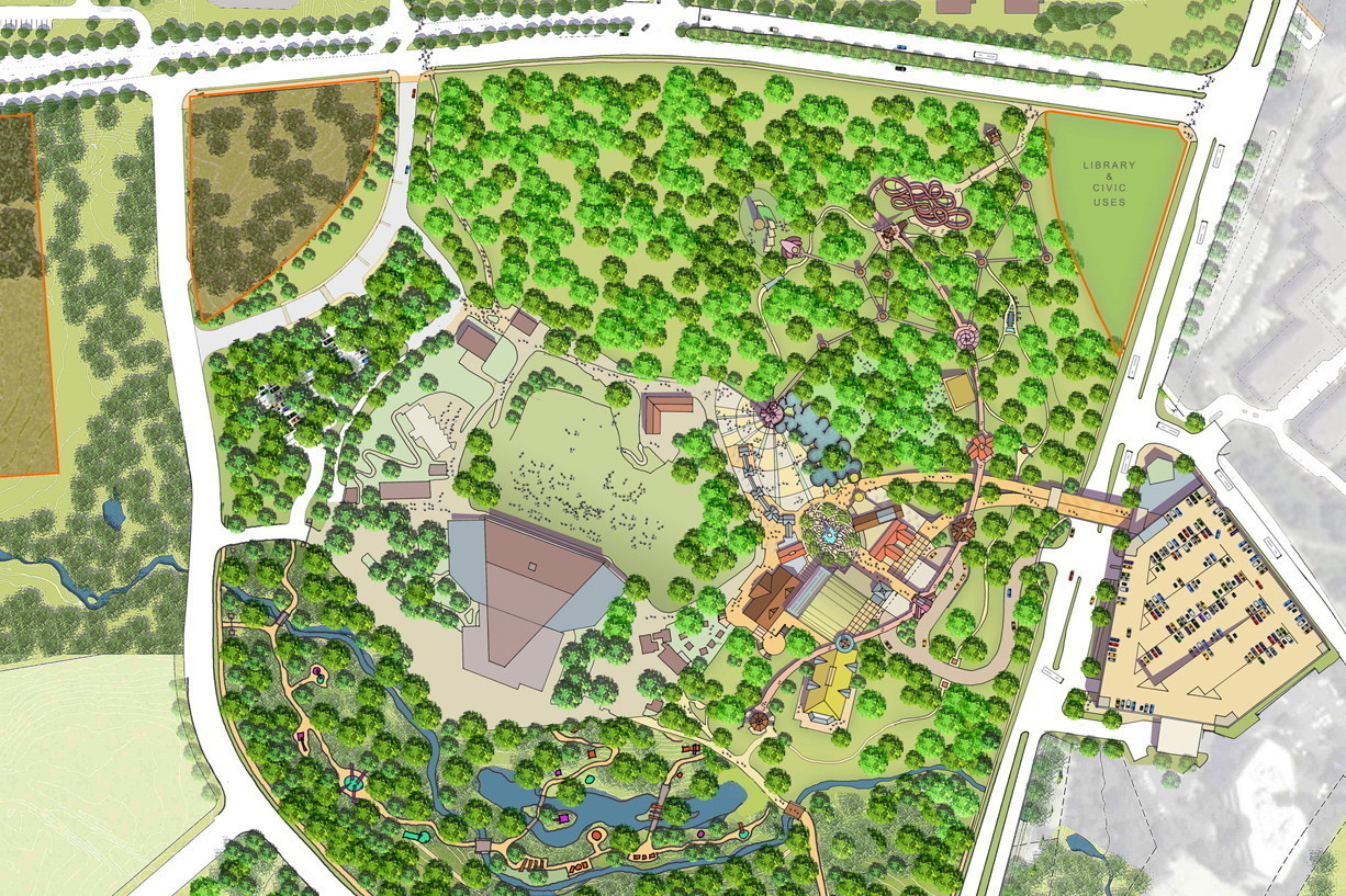 Ca board approves concept plan for symphony woods for Columbia woods