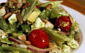 Bluewater Grill's chicken chopped salad