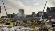 Construction for Allentown's hockey arena