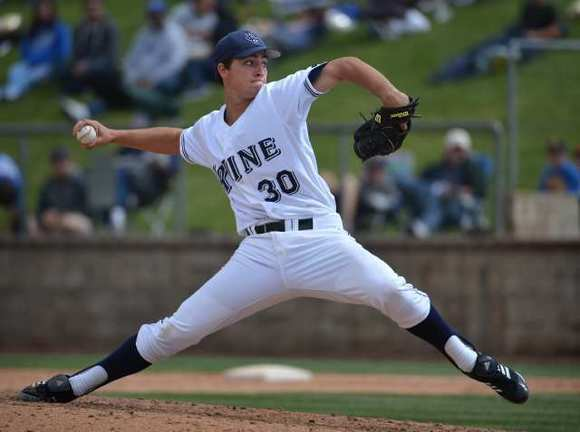 UC Irvine junior pitcher Andrew Thurman was 8-3 with a 2.66 earned-run average in a 2012 campaign that included a no-hitter against Long Beach State.