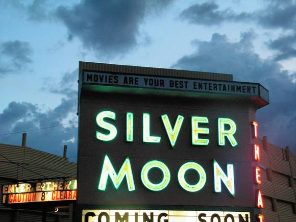 Silver Moon Drive-In in Lakeland