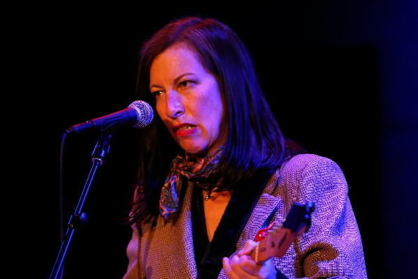 Syd Straw performs at City Winery on Thursday night.