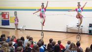 PHOTOS: Chinese acrobats perform at Boones Mill Elementary School