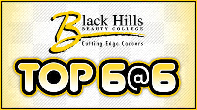 Black Hills Beauty College Top 6 at 6!