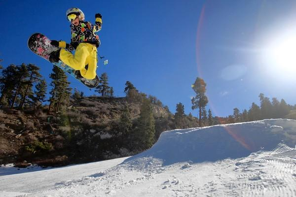 Skiing injuries are down, but not for snowboarding.
