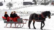 Find A Sleigh Ride Adventure In Connecticut