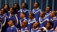 The Hampton University Choir will be part of a choral festival in Norfolk on Sunday, Feb. 17, 2013.
