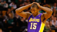 WASHINGTON -- Lakers forward Metta World Peace lent his star power – and his personal story – to a Los Angeles congresswoman's effort to fund mental health services in schools.