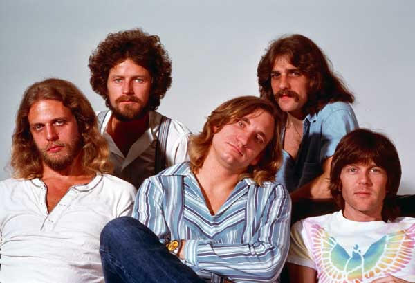 """History of the Eagles,"" the story of the Calfornia-based band, concludes at 8 p.m. on Showtime. Featuring Don Felder, left, Don Henley, Joe Walsh, Glenn Frey and Randy Meisner."