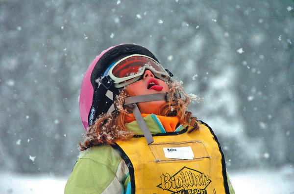 Kids ski and stay free as part of a spring break deal at Big White in British Columbia