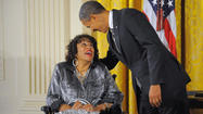 Baltimore woman among Obama's Citizen Medal awardees